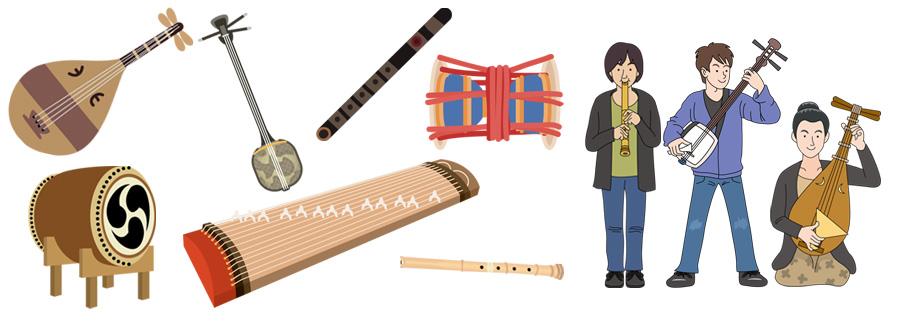 イラストAC 和楽器イラスト素材