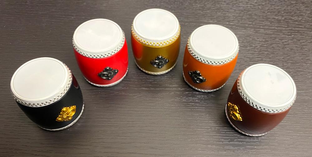 マジで鳴る太鼓 和太鼓のガチャ 全5種類