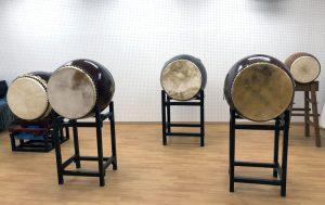 和の音交流館 地下 和太鼓も練習できるスタジオ