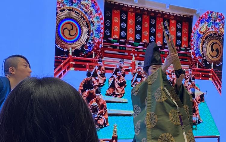 Apple丸の内 山田文彦に学ぶ デジタルテクノロジーで再解釈する雅楽 笙の紹介