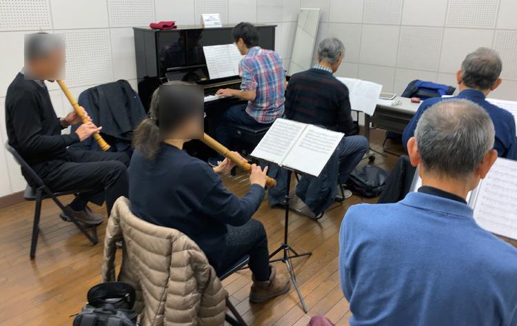 和楽器Jazz Workshop! 尺八パート練習