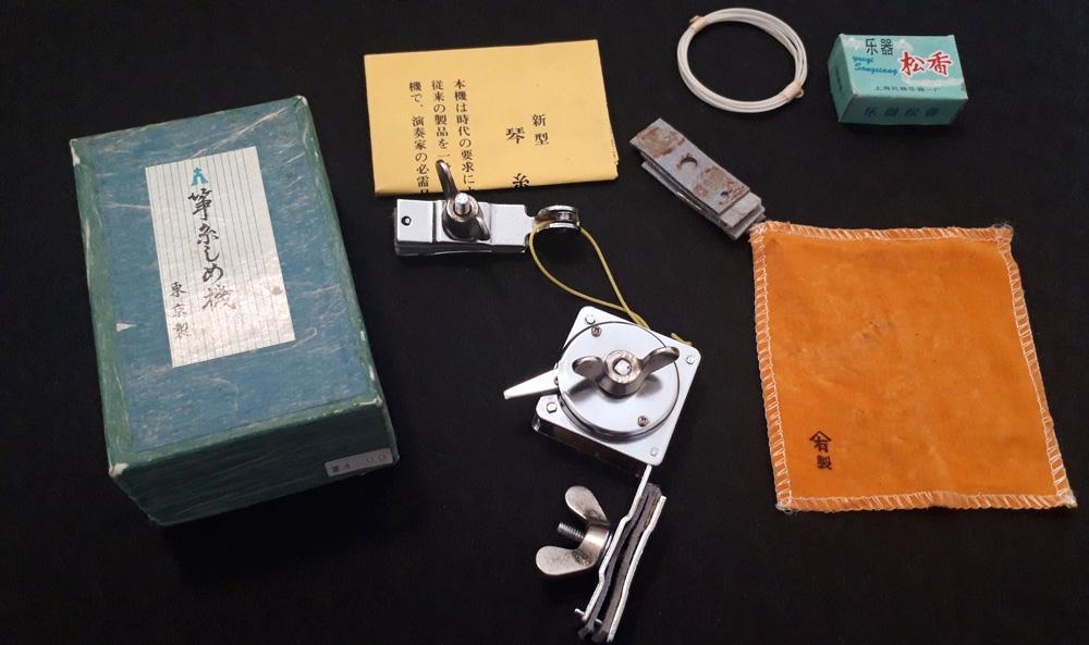 糸締め機のセット内容